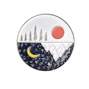 {5/$25} Sun and moon nature reflection pin